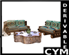 Cym Derivable Sofa Set