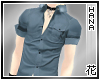 [T] Men's Shirt Blue