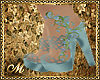 :mo: FAIRIE SHOES BLUE