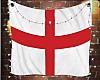 England Flag w/Lights