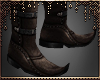 [Ry] Pointed boots brown