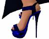 Dark Blue Sexy Heels