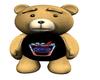 BEAR WITH FLASHING PEPSI