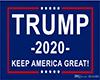 TRUMP 2020 Animated Flag