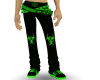Green Toxic Jeans