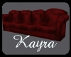 ~P~Red Comfortable Couch