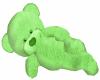Green Cuddle Teddy Bear