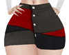*HC* RLL Skirt Red/Black