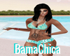 Mix&Match BikiniTop Aqua