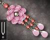-V- Indira Earrings Pink