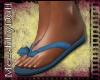 {MD}Blue Flip Flops
