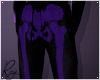 Purple Skelly Joggers