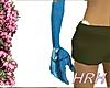 HRH Gloves CheckerBlue