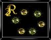 R22 Orbs Gold N Grn