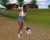 SC FrizbeeToss Husky Pup