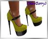 Paris Heels Yellow