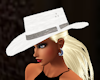 white cowgirl hat