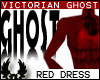 -©p Ghostly Red Dress