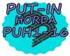 PUT-IN - HORDA