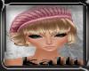 K:Blond Hair/Pink Hat