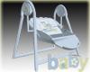 Baby Boy Trains Swing