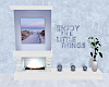 ☾ counseling fireplace