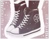 F. Pentagram Shoes Black