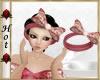 ~H~Rose Hair bow