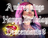 Descendants 3 bday song