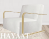 Gold Frame Accent Chairs