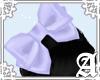 Satin Bow~ Lavender