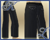 Baggy Pinstriped Pants
