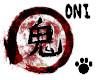Japanese Kanji Oni