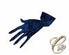 Glove Blue Sequin