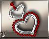 *W* Valentine Earrings