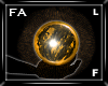 (FA)HandOrbFL Gold