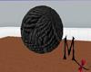 GIANT Blk Yarn Ball! Anm