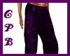 Purple/Black Pants ( F )