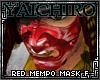 Red Mempo Mask F