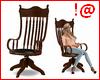 !@ Antiq reclining chair