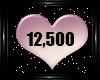 12,500 K STICKER