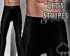 Cat~ Let's Stripes Pants