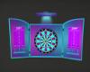 Neon Dart Board