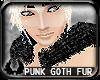 'cp Punk Goth Satin Fur