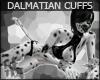 +KM+ Dalmatian Fur Cuffs