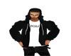 J' polo hoodie