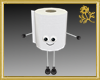 Mr. Toilet Paper Roll