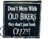 (K)Old Biker sign2