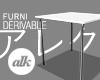 Ⓐ Poor Aesthetic Table