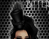 Saloon Girl Hat Black